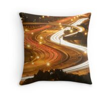 Freeway Perth Australia Throw Pillow