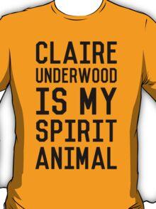 Claire Spirit- Black T-Shirt