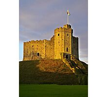 Cardiff Castle Sunset C Photographic Print