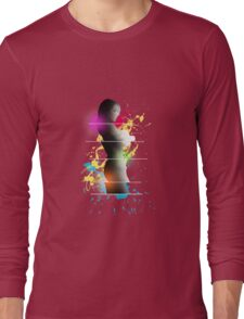 cool woman  Long Sleeve T-Shirt