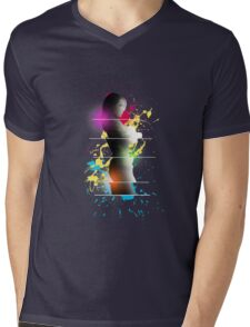 cool woman  Mens V-Neck T-Shirt