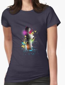 cool woman  Womens Fitted T-Shirt