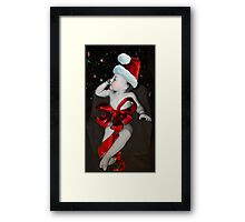 All I Want For Christmas Is.... Framed Print