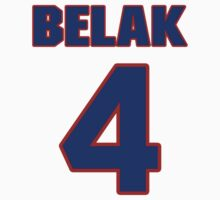 National Hockey player Wade Belak jersey 4 by imsport