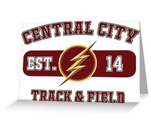 Central City Track & Field Greeting Card
