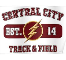 Central City Track & Field Poster