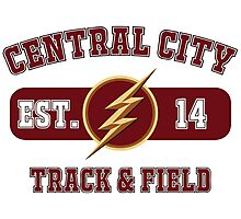 Central City Track & Field Photographic Print