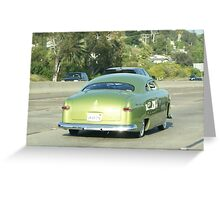 GREEN MACHINE; San Diego FWY; CA USA Greeting Card