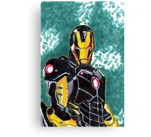 Iron Man Armour Model 42 Canvas Print