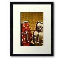 Tin Toys Framed Print