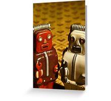 Tin Toys Greeting Card