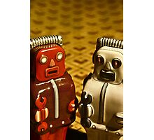Tin Toys Photographic Print