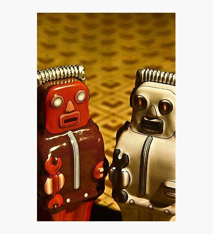 Tin Toys Photographic Print