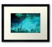 Fanning Spring Pool Framed Print
