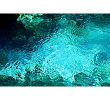 Fanning Spring Pool Photographic Print