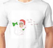"""reason for the season"" weird cats Unisex T-Shirt"