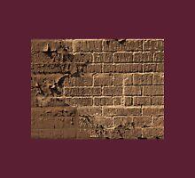 Textured red bricks wall digital art  Unisex T-Shirt