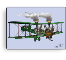 WORLD WAR ONE BOMBER AEROPLANE VICKERS VIMY STYLE STEAMPUNK Canvas Print