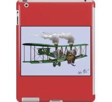 WORLD WAR ONE BOMBER AEROPLANE VICKERS VIMY STYLE STEAMPUNK iPad Case/Skin