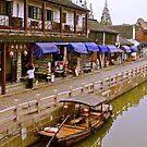 water city Shanghai China by kathywaldron