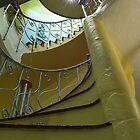 Michael Davies - Spiral Staircase at the West Usk Lighthouse by Danielle  Sheahan