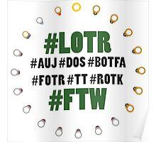 #LOTR #FTW Poster