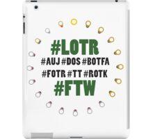 #LOTR #FTW iPad Case/Skin