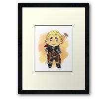Little Cullen Framed Print