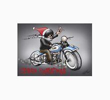 CHRISTMAS HARLEY STYLE MOTORCYCLE Unisex T-Shirt