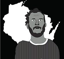 Bon Iver Stacks T-shirt   by em7174