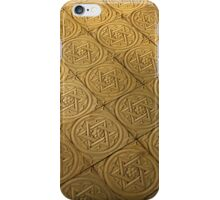 Star of David engraved in stone - Judaism iPhone Case/Skin