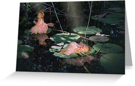Enchanted Pond by cheerishables