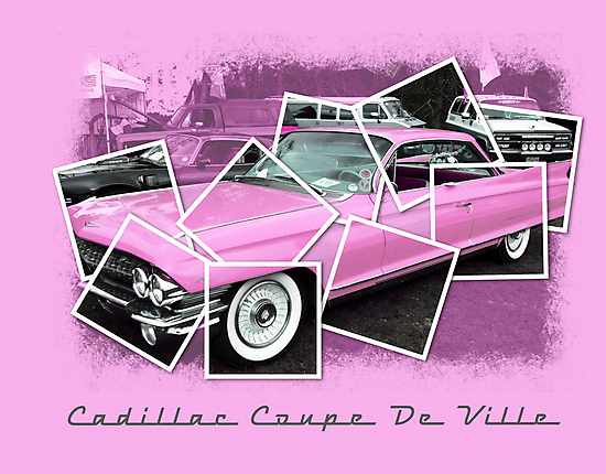 Cadillac Photo Montage by Mark Wilson