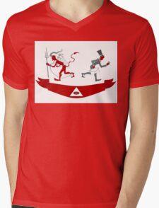 Corporate Krampus Mens V-Neck T-Shirt