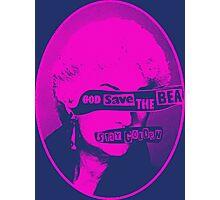 God Save the Bea (Pink) Photographic Print