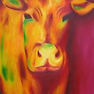 Delilah the cow. by Jane Whittred