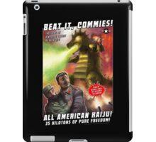 Beat it, Commies! iPad Case/Skin