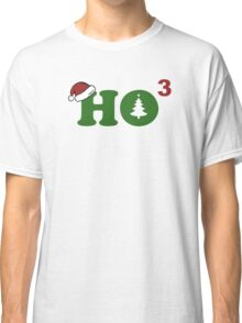 Ho Cubed Merry Christmas Classic T-Shirt