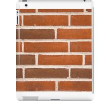 Background of brick wall texture iPad Case/Skin