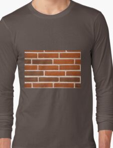 Background of brick wall texture Long Sleeve T-Shirt