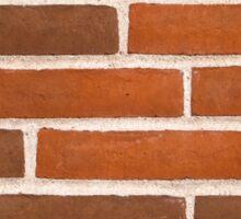 Background of brick wall texture Sticker