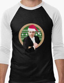 Downey's Ducklings' holiday sweater (#1) Men's Baseball ¾ T-Shirt