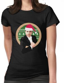 Downey's Ducklings' holiday sweater (#1) Womens Fitted T-Shirt