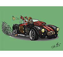 Steampunk Cobra (Green) Photographic Print