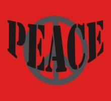 Peace Tee by MidnightAkita