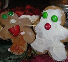 Dieing GingerBread Cookies  by Jottilo