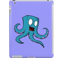 Happy Cube Headed Octopus iPad Case/Skin