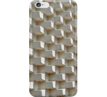 Abstract geometric background wall iPhone Case/Skin