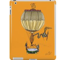 STEAMPUNK HOT AIR BALLOON (Gold) iPad Case/Skin
