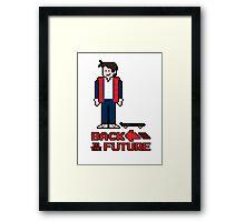 Marty McFly  Framed Print